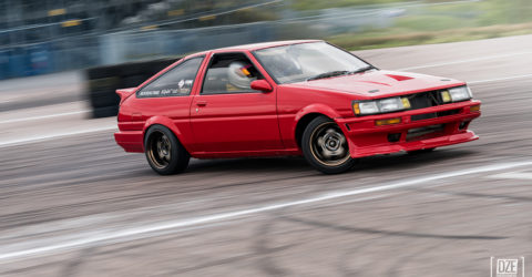 Paz's AE86 on WORK Meister S1-2P