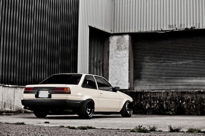 Toyota AE86 with SR20DET
