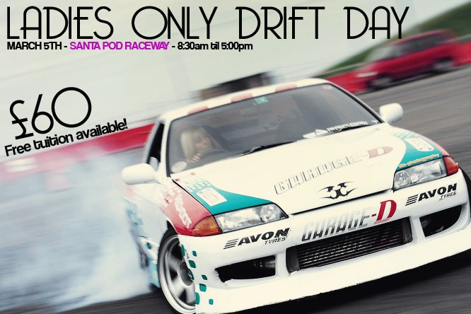 ladies only drift day