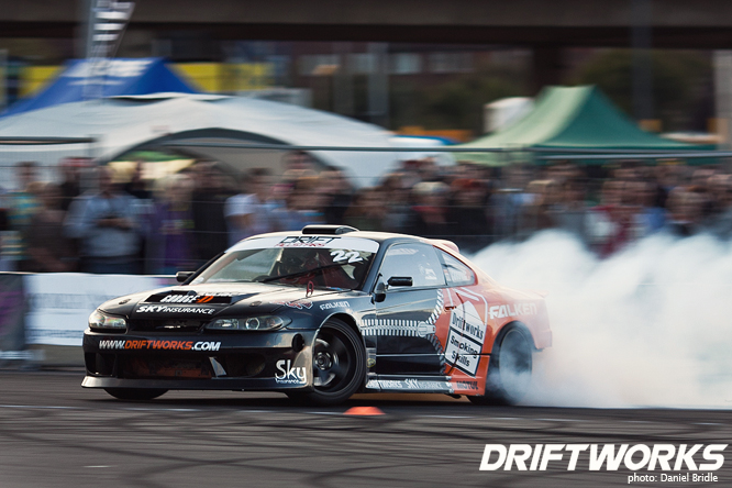 Driftworks S15 at Drift Allstars Wembley