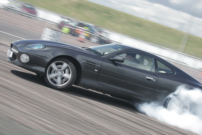 Aston Martin DB7 drift car