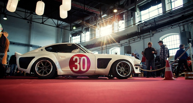 Datsun 260Z S30 widebody with S13 suspesion - Aardvark