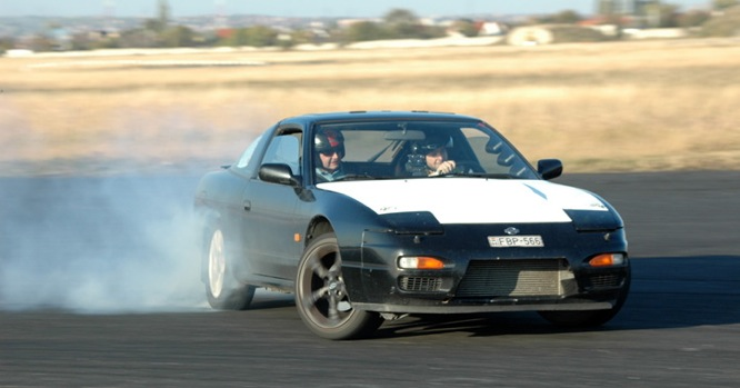 Nissan 200SX S13 - the leg donor