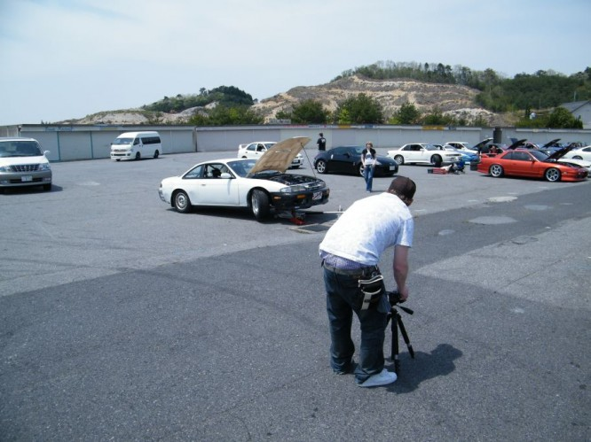 mitto filming drifting at meihan