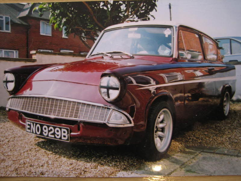 105e Ford Anglia Super Shell For Sale Driftworks Forum