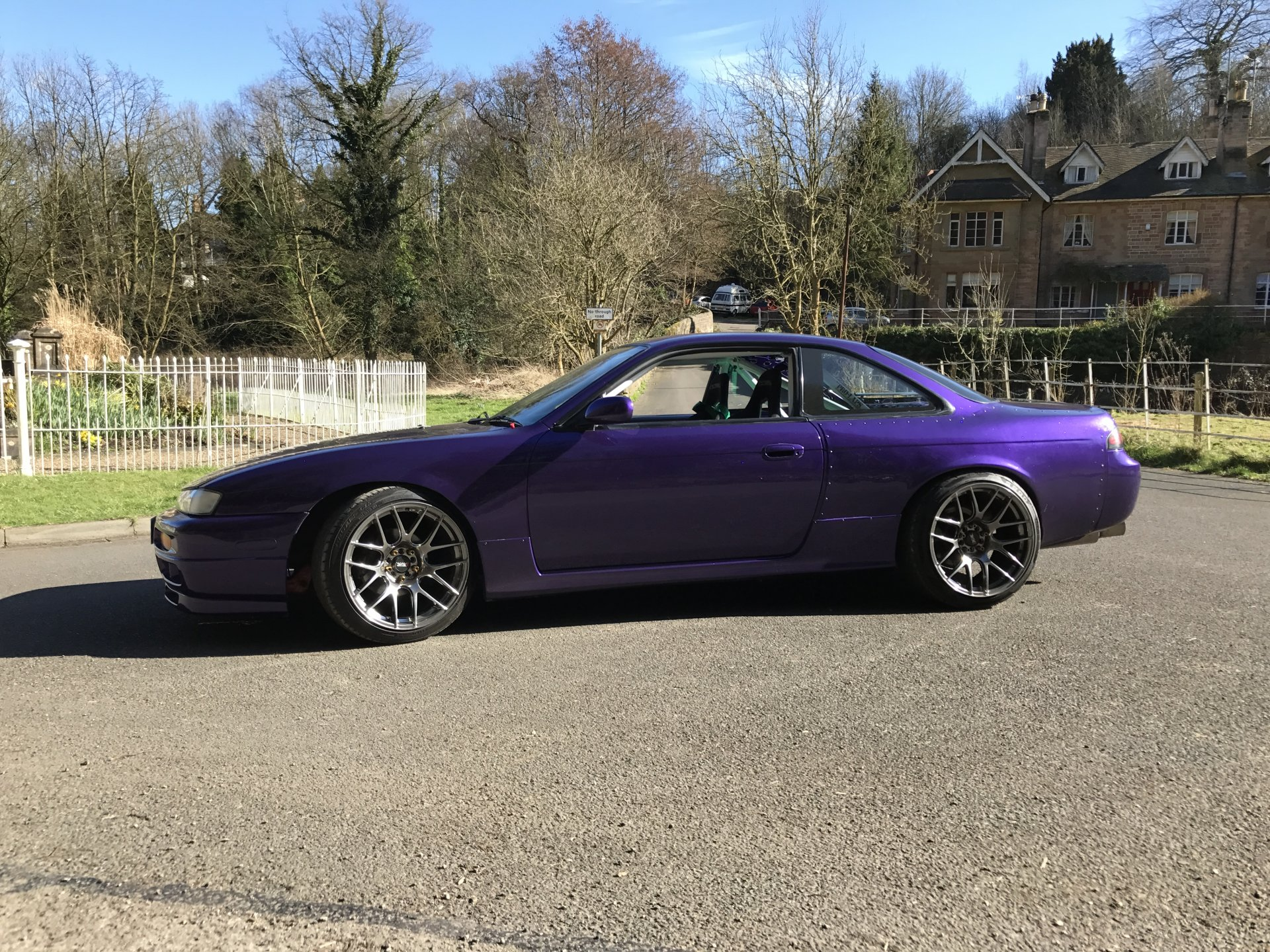 Drift Car For Sale: Nissan S14a (S14 BDC Private Reg) Full Respray