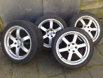 18' 350Z Rays Forged alloys