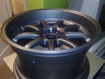 bought some new rims what colour would best suit the car?