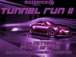 MissBanzai London Tunnel Run Take 2
