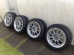 "***Very Rare 17"" Volk GT-N Forged Split Rims 5x114***"