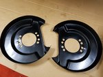 S14/S15 REAR BRAKE BACKING PLATES