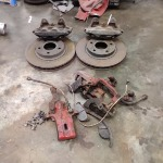 S15 OEM Front Brakes + Discs + (I think) S14 rears