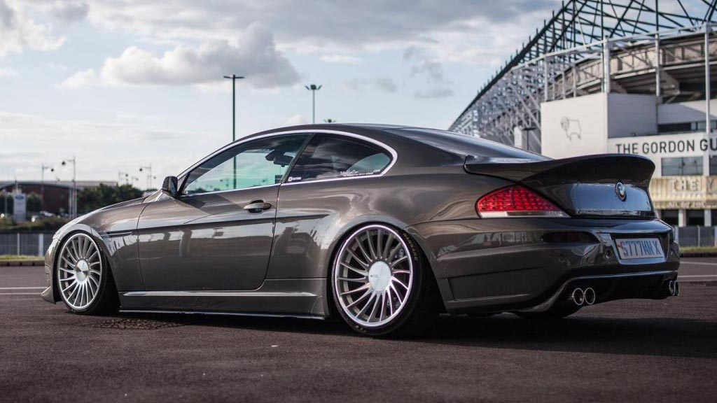 BMW 6 Series - 3SDM 0.04 Silver Cut Wheels