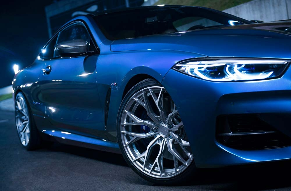 BMW 8 Series - CVR1 Brushed Titanium Wheels