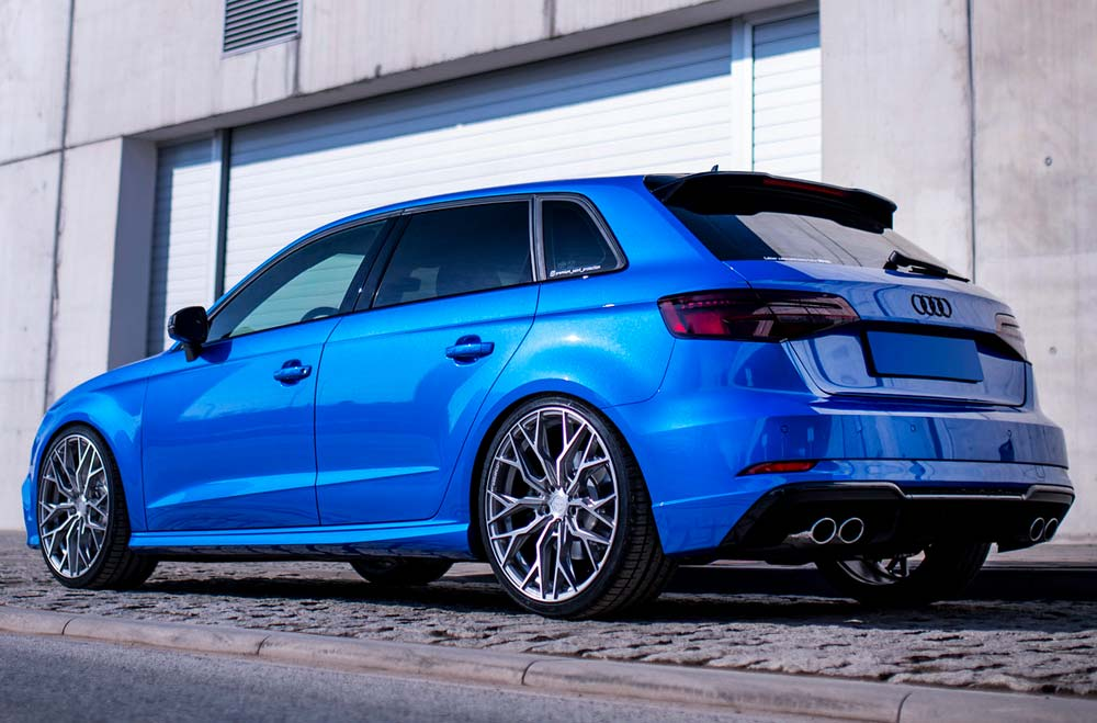 Audi RS3 - CVR1 Brushed Titanium Wheels