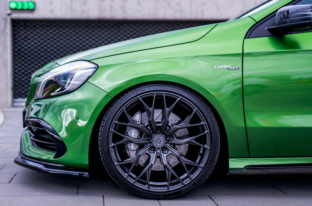 Mercedes A45 AMG - CVR1 Carbon Graphite Wheels