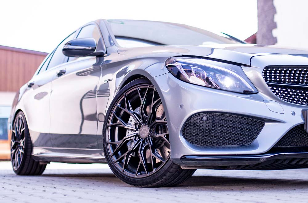 Mercedes C43 AMG - CVR1 Carbon Graphite Wheels