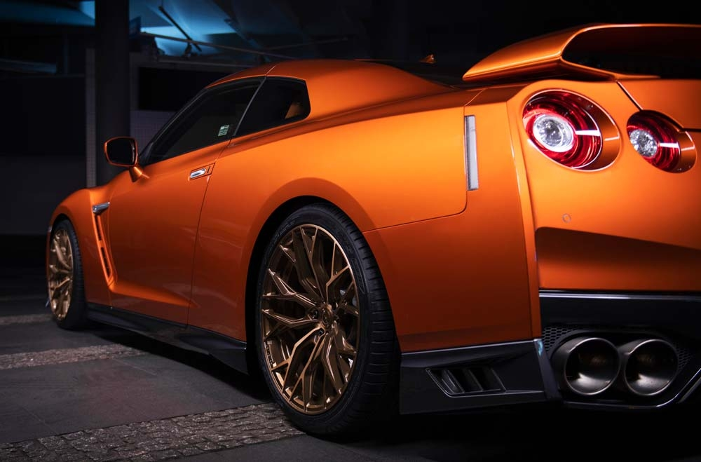 Nissan GTR - CVR1 Brushed Bronze Wheels