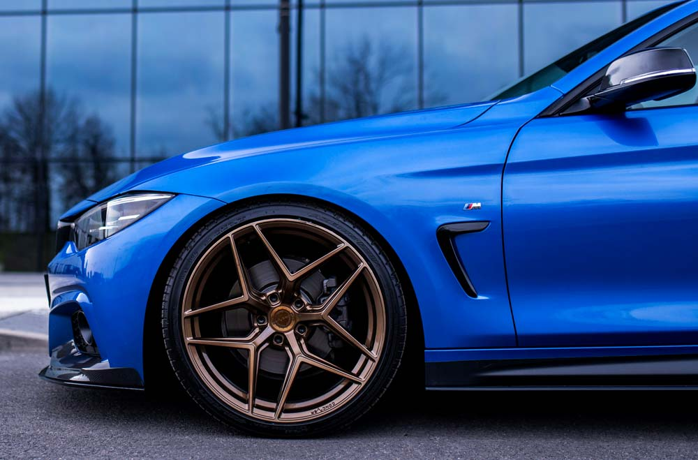 BMW M4 - CVR2 Brushed Bronze Wheels