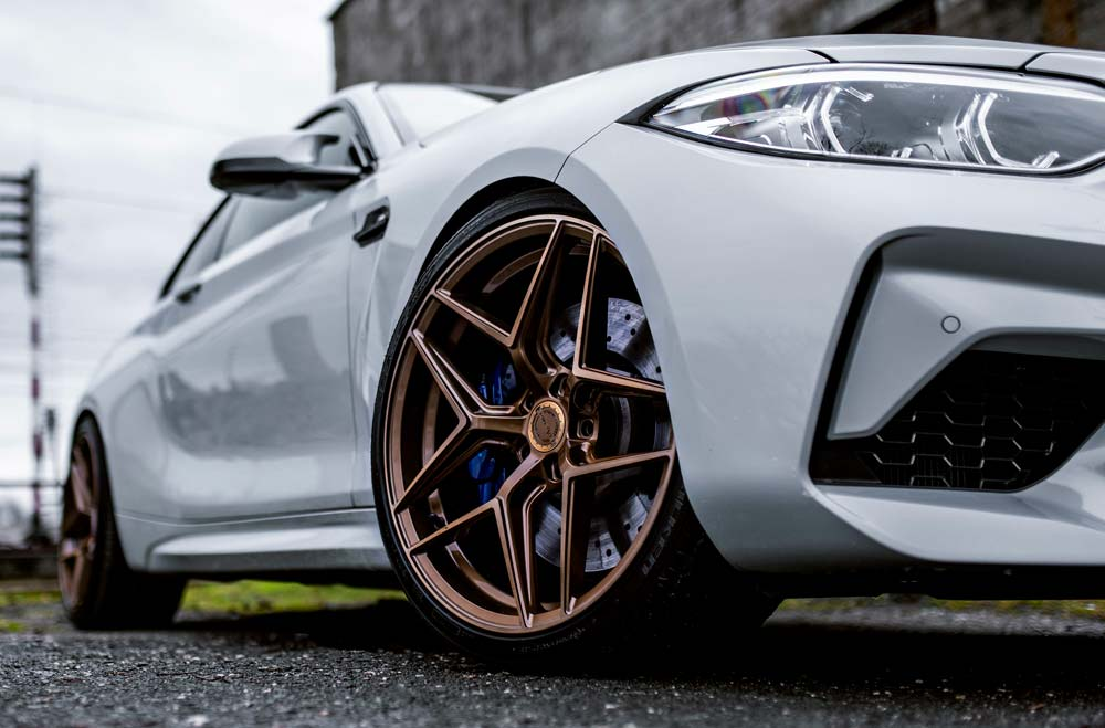 BMW M2 Competition - CVR2 Brushed Bronze Wheels