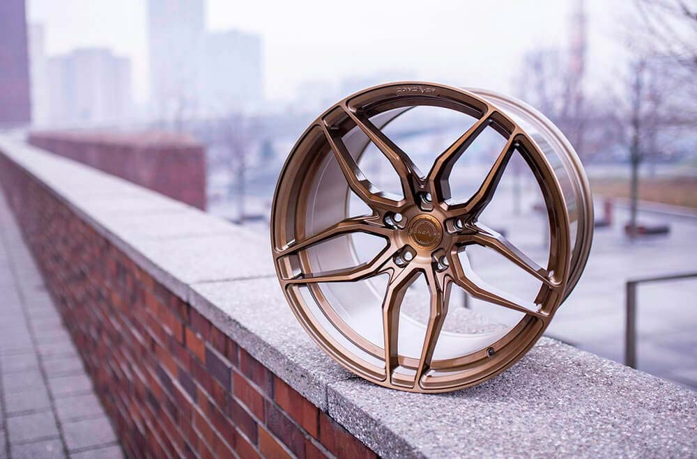 CVR3 Brushed Bronze Wheels