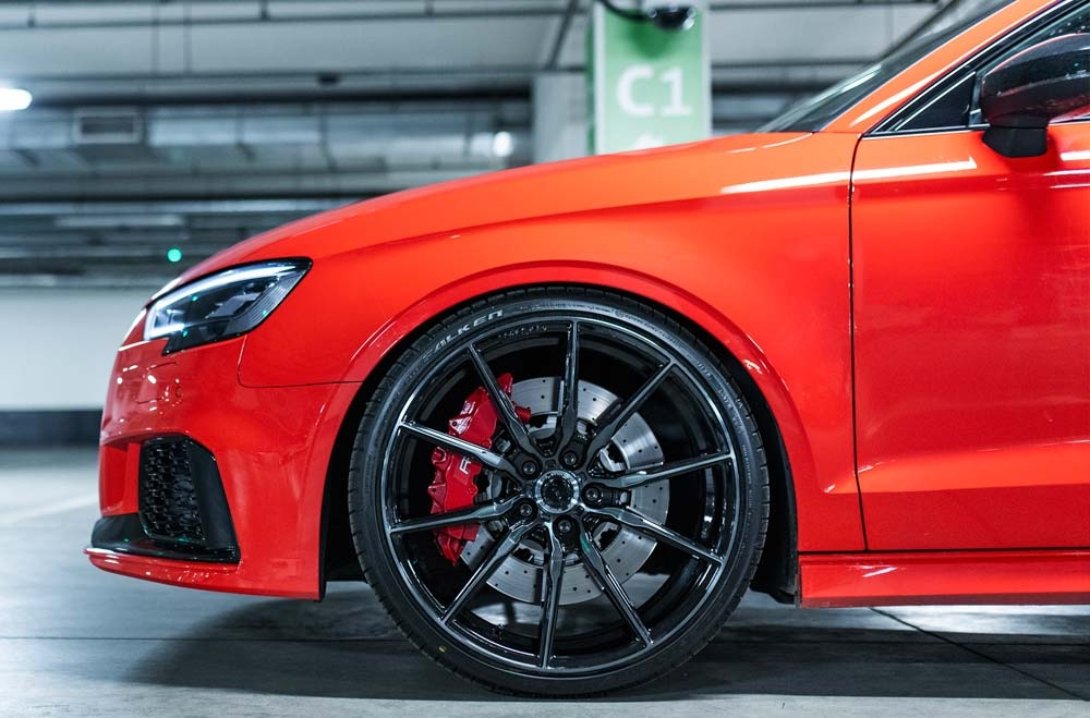 Audi RS3 - CVR4 Double Tinted Black Wheels