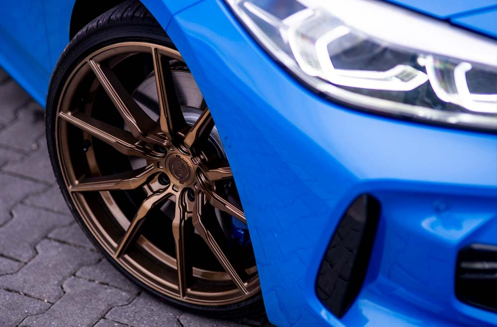 BMW 1 Series - CVR4 Brushed Bronze Wheels