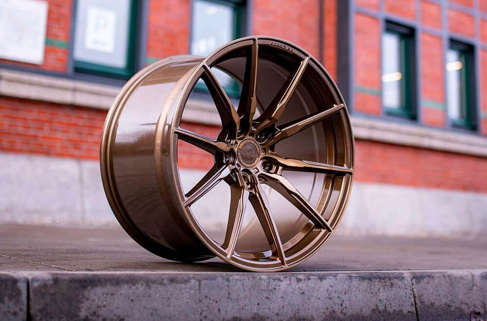 CVR4 Brushed Bronze Wheels