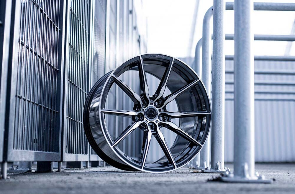 CVR4 Double Tinted Black Wheels