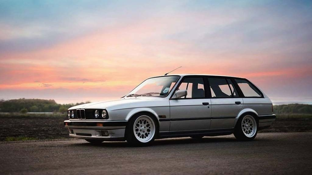 BMW E30 - Formula TR Speed Silver Wheels
