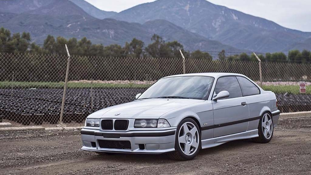 BMW E36 - Tarmac Speed Silver Wheels
