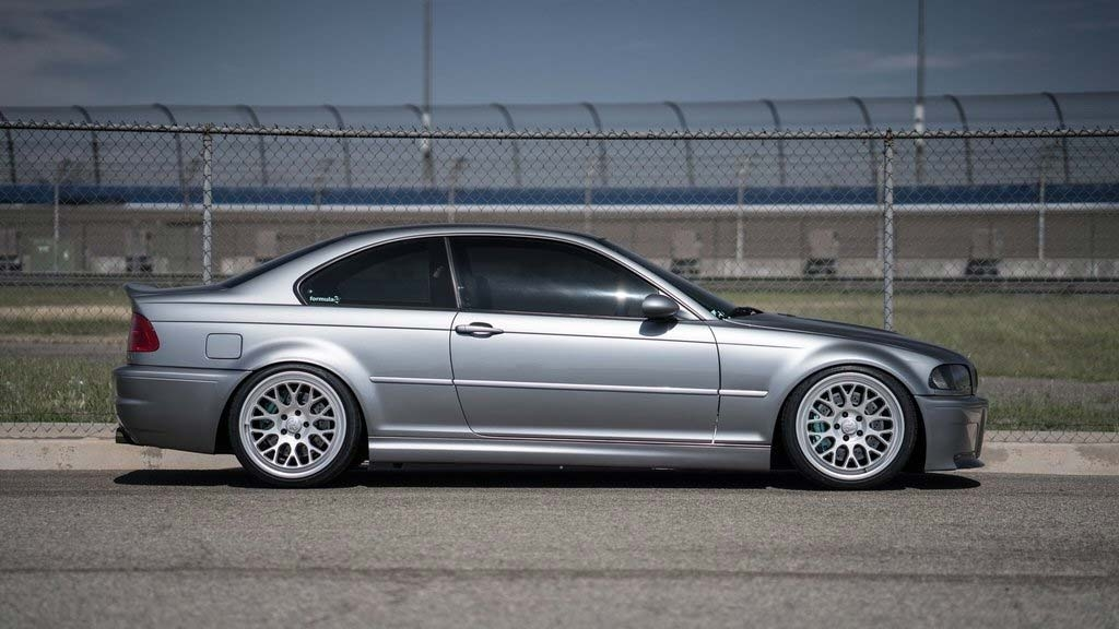 BMW E46 M3 - Formula GT Speed Silver Wheels