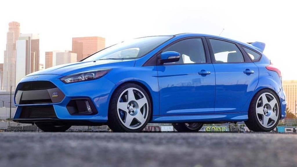Ford Focus RS - Tarmac Rally White Wheels