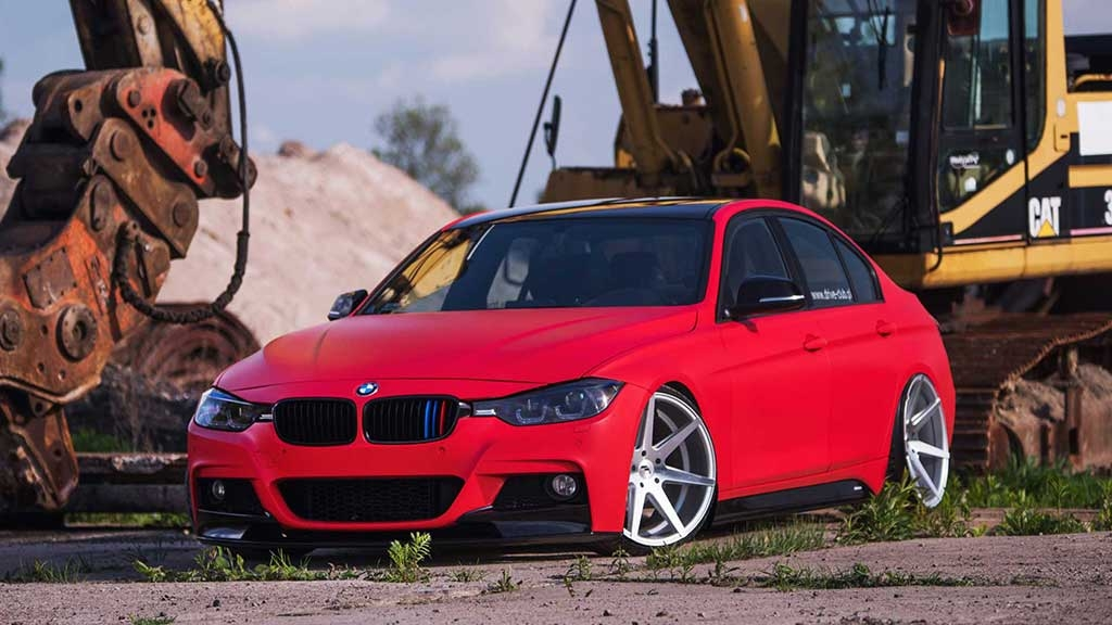 BMW F30 - JR20 Wheels