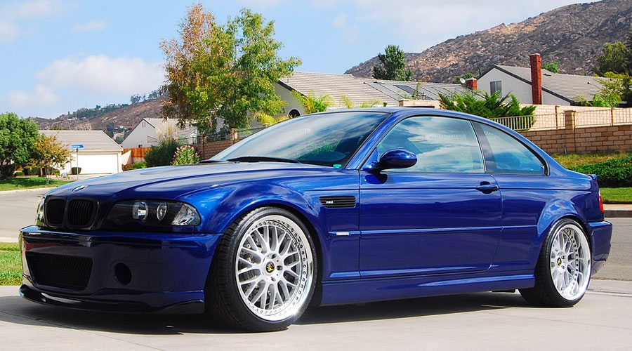 BMW E46 Bolt On Wheel Fitment