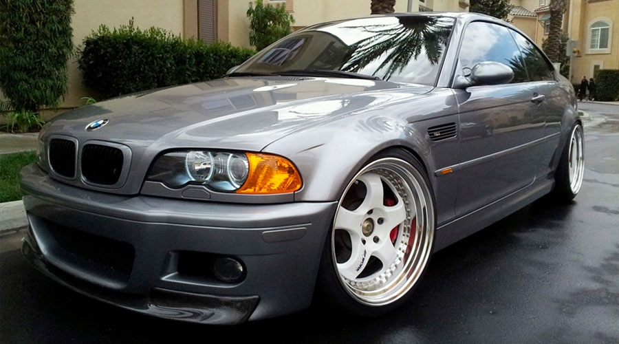 BMW E46 Modified Fitment