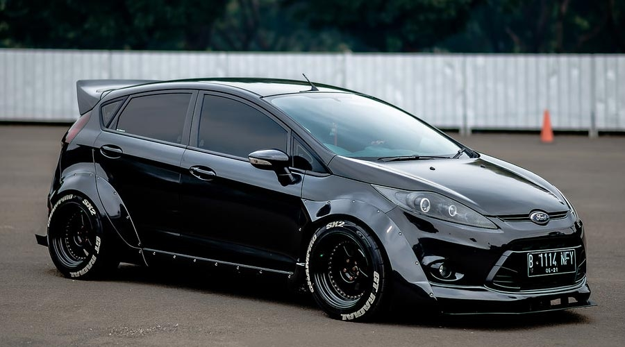 Ford Fiesta Mk Modified Wheel Fitment
