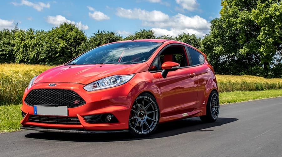 Ford Fiesta MK7 Modified Wheel Fitment