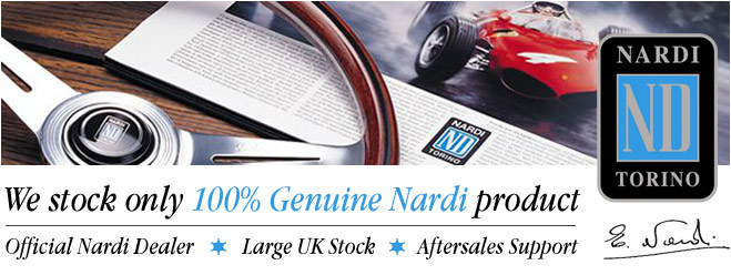 Only Genuine Nardi products here
