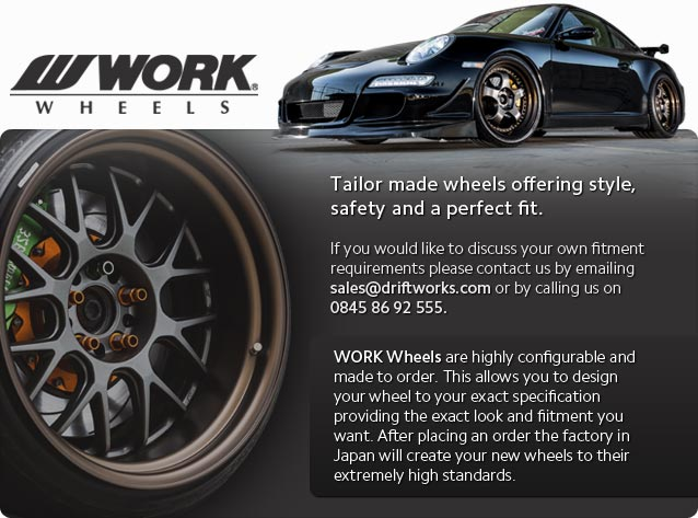 WORK wheels by Driftworks